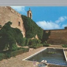 Postales: ALMERÍA, 114 ALCAZABA, ESTANQUE Y TORRE DE LA VELA, JOSE SALAS IBAÑEZ. Lote 47142639