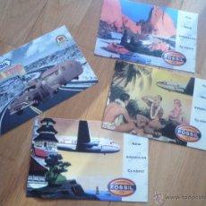 Postales: 4 POSTALES DE LA MARCA DE RELOJES FOSSIL. NUEVAS.. Lote 47654043