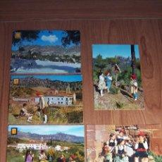 Postales: LOTE DE 5 POSTALES DE CATALUÑA TÍPICA (ESCRITAS POR DETRAS) . Lote 47947449