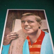 Postales: POSTAL DE CINE. GEORGE PEPPARD. HANNIBAL SMITH. EL EQUIPO A AÑO 1966. SIN CIRCULAR. Lote 48387667