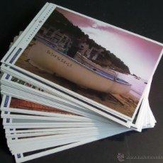 Postales: COLECCIÓN COMPLETA CATALUNYA UNIVERSAL. 48 POSTALES EDIT. POR LA VANGUARDIA, NUEVAS ESTADO EXCELENTE. Lote 48737372