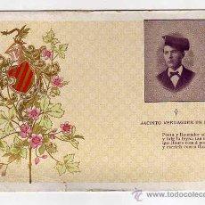 Postales: JACINTO VERDAGUER. ANTIGA POSTAL. SENSE DIVIDIR AL DORS.. Lote 48853735