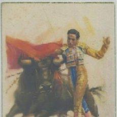 Cartoline: POSTAL TAURINA. PASE DE PECHO. OLEOS DE J. CROS P-TOR-149. Lote 49298513