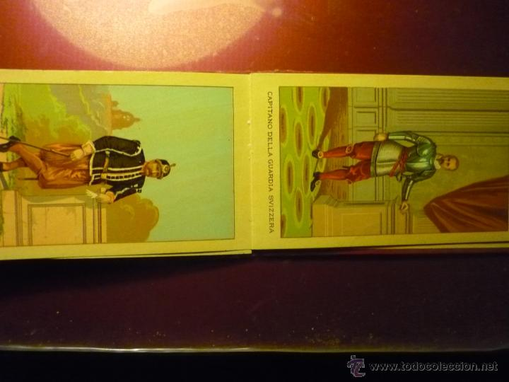 Postales: carpeta tapas duras carte pontificia.-interior postales tipo cromo uniformes santa sede. bb- - Foto 2 - 49421036