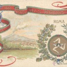 Postales: ITALIA. 61º REGGIMENTO FANTERIA. POSTAL COLOR, SIN CIRCULAR, C. 1915. BUENA IMPRESIÓN Y CONSERVACIÓN. Lote 49487684