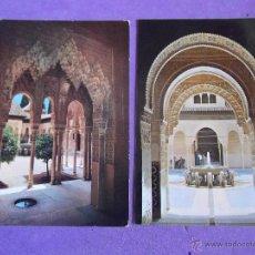Postales: POSTALES-VARIOS-V32-GRANADA-ALHAMBRA-ESCRITAS. Lote 49664191