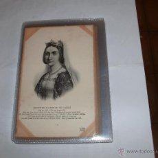 Postales: POSTCARD JEANNE DE FRANCE OU DE VALOIS. Lote 49730933
