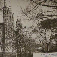 Postales: TARJETA POSTAL, COLEGIO DE CHAMARTÍN - FACHADA Y JARDINES. Lote 50361759