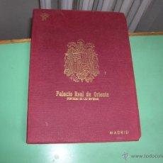 Postales: PALACIO REAL DE ORIENTE .PINTURAS DE LAS BÓVEDAS MADRID.OFERTA ESPECIAL.. Lote 50534233