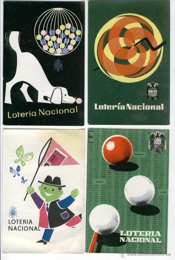 Postales: 12 POSTALES LOTERIA NACIONAL 1958,60 Y 62 - Foto 2 - 50541448