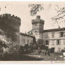 Postales: POSTAL DE FOTOGRAFIA DEL CASTILLO DE GOUEYTES - POUX - CIRCULADO. Lote 50570912