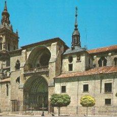 Postales: POSTAL DE CATEDRAL DE BURGOS DE OSMA - SORIA - SIN CIRCULAR. Lote 50570989