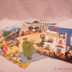 Postales: LOTE 9 POSTALES NAÏF. Lote 50658445
