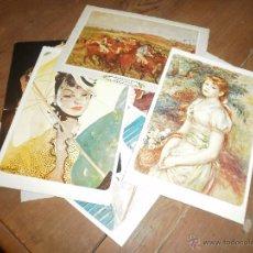 Postales: LOTE POSTALES IMPRESIONISTAS. Lote 50689390