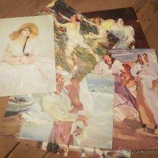 Postales: LOTE POSTALES DE SOROLLA. Lote 50689465