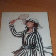 Postales: CHOCOLATE AMATLLER - TARGETA POSTAL - TENIS. Lote 50856467