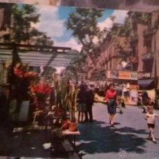 Postales: ANTIGUA POSTAL AÑOS 60-70 RAMBLA DE BARCELONA. Lote 50956141