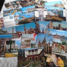 Postales: LOTE DE 24 POSTALES SURTIDO VARIADOS, LA MAYORÍA SON DE PUEBLOS Ó LOCALIDADES ESPAÑA.... Lote 50969409