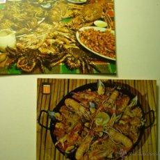 Postales: LOTE POSTALES PLATOS TIPICOS ESPAÑOLES---BB. Lote 51059486