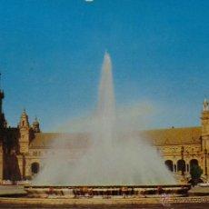 Postales: TARJETA POSTAL, SEVILLA - PLAZA DE ESPAÑA. Lote 51250600