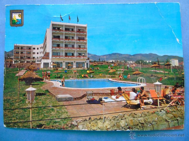 Postal de m laga a o 1963 torremolinos hotel comprar for Piscina torremolinos