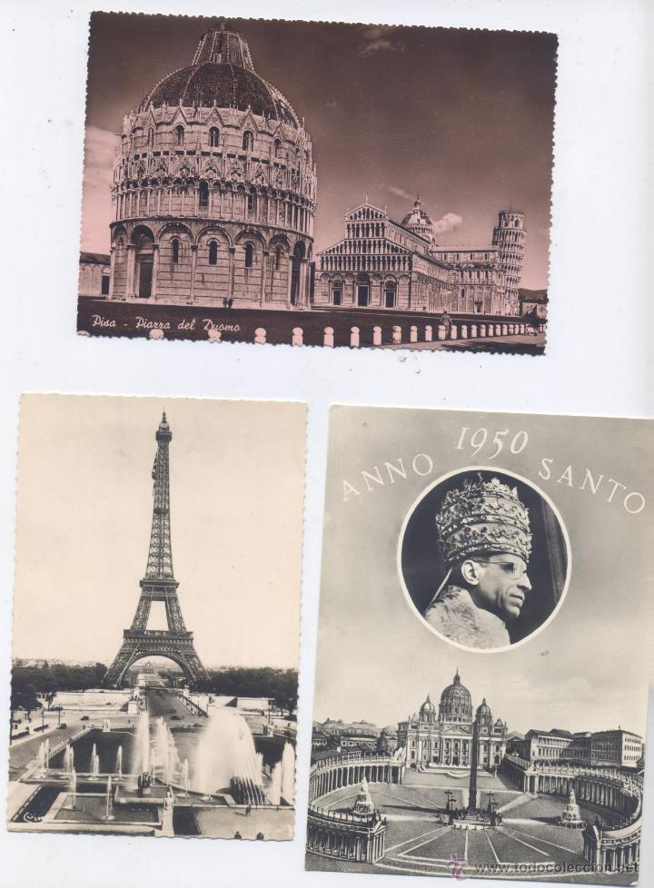 Postales: LOTE DE 100 POSTALES, EN BLANCO Y NEGRO-EXTRANJERAS-AÑOS 1920/1960 - Foto 2 - 51626898