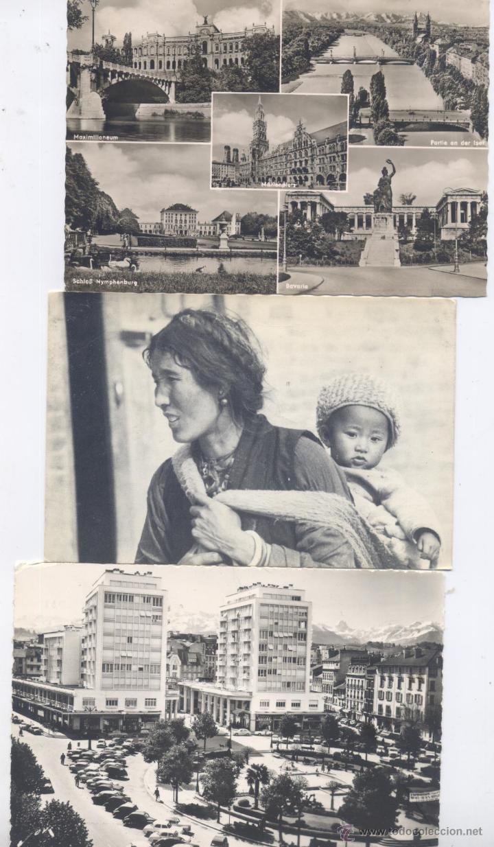 Postales: LOTE DE 100 POSTALES, EN BLANCO Y NEGRO-EXTRANJERAS-AÑOS 1920/1960 - Foto 3 - 51626898