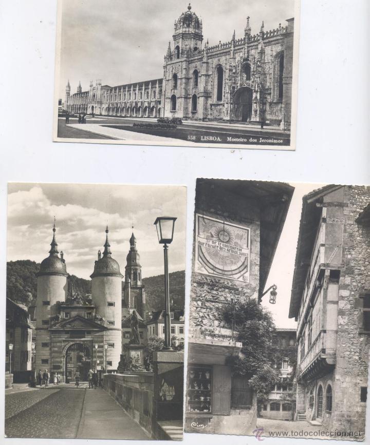 Postales: LOTE DE 100 POSTALES, EN BLANCO Y NEGRO-EXTRANJERAS-AÑOS 1920/1960 - Foto 4 - 51626898