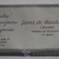 Postales: COLECCION DE 14 POSTALES ESTEREOSCOPICAS DE SIERRA DE GUADARRAMA - MADRID. Lote 51680661