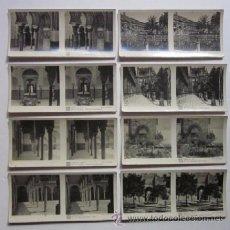 Postales: COLECCION DE 8 POSTALES ESTEREOSCOPICAS DE SEVILLA. Lote 51680805