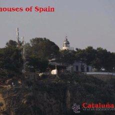 Postais: FAROS DE CATALUÑA-TOSSA. Lote 51695396