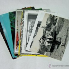 Postales: LOTE 15 POSTALES MALAGA. AÑOS 40-50-60-70. Lote 51953840