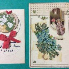 Postales: LOTE DE 2 POSTALES. Lote 52697465