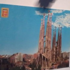 Postales: POSTAL TEMPLO DE LA SAGRADA FAMILIA. BARCELONA.. Lote 52965563
