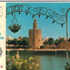 Postales: 2 SERIES - 10 TARJETAS POSTALES FERIA DE MUESTRAS SEVILLA BHA. Lote 53175774
