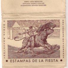 Postales: 16 POSTALES ESTAMPAS DE LA FIESTA . Lote 53270629