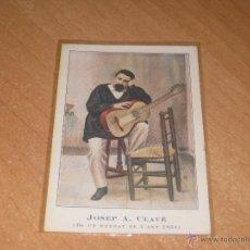 Postales: POSTAL DE JOSEP A. CLAVE. Lote 150822366