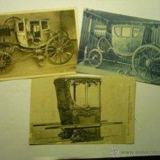 Postales: LOTE POSTALES EXTRANJERAS CARRUAJES --CM. Lote 53773102