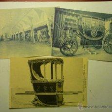 Postales: LOTE POSTALES EXTRANJERAS CARRUAJES CM. Lote 53773112