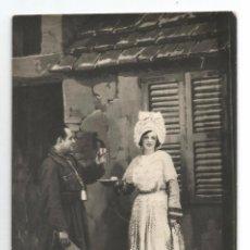 Cartoline: POSTAL FOTOGRAFICA .- SRTA. VERGE I SR. BARRABÉS .- OBRA LA LEGIÓ DHONOR 1930.- FIRMADA. Lote 53999608