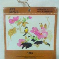 Postales: ALBUM 6 POSTALES CALENDARIO 1985 ARS MINUS. Lote 54433490