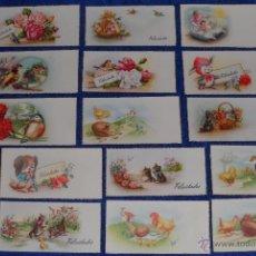 Postales: LOTE DE TARJETAS DE FELICITACIÓN (AÑOS 50 / 60). Lote 54526241