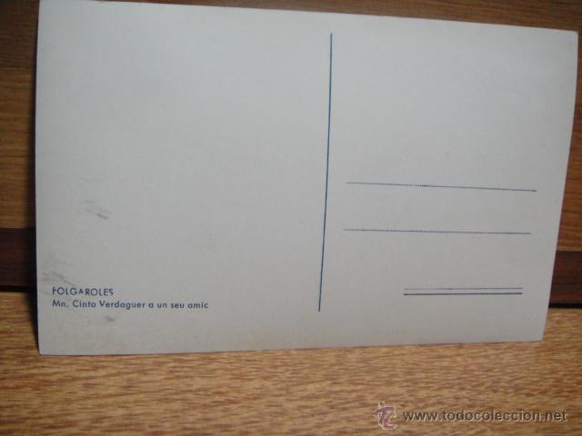 Postales: postal con nota de jacinto verdaguer a un amigo - Foto 2 - 54674956