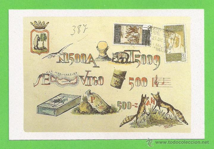 Postales: TARJETA POSTAL - 30 TARJETAS DEL MUSEO, POSTAL Y TELEGRÁFICO, CON SU ESTUCHE Y SUS SOBRES. - Foto 17 - 54747868