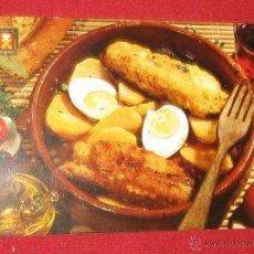 Postales: COCINA - BACALAO CON PATATAS A LA CATALANA - ESCUDO DE ORO Nº 17 - AÑO 1968 - . Lote 54789459