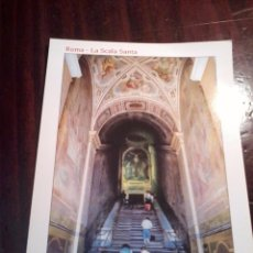 Postales: ROMA. LA SCALA SANTA. . Lote 55038593