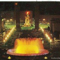 Postales: POSTAL 6468 : FUENTE LUMINOSA, BARCELONA. Lote 55459017