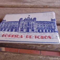 Postales: LIBRETO 8 POSTALES CORRIDA DE TOROS HELIOTIPIA MIDE CADA POSTAL 9.6 X 5.6 CM. Lote 55489727