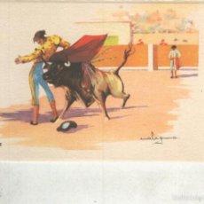 Postales: POSTAL 014816: ARTES DEL TOREO: MOLINETE. Lote 55516656