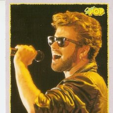 Postales: POSTAL 027728 : GEORGE MICHAEL, SUPER POP. Lote 55575678